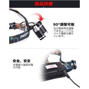 LEDヘッドライト ledヘッドライト 防災 ...の詳細画像2