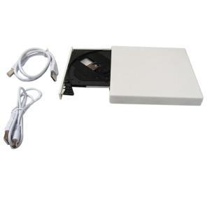 外付けドライブ 24X USB接続 CD-ROM外部ドライブ CD-ROMドライブ HDD外付け|vastmart