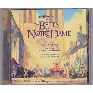 ■CD ディズニー ノートルダムの鐘 オリジナルサウンドトラック.サントラ.OST *アラン・メンケ...