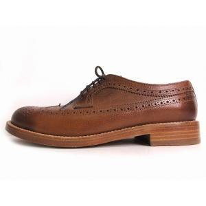 ノーザンコブラ NORTHERN:cobbler ウィングチップ シューズ WingTipShoes レザー 39 25.5 ブラウン 茶 メンズ【中古】【ベクトル 古着】|vectorpremium