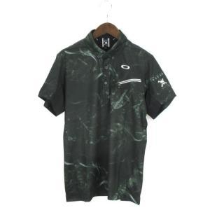 未使用品 オークリー OAKLEY 18SS SKULL MYSTIFY SHIRTS ポロシャツ ...
