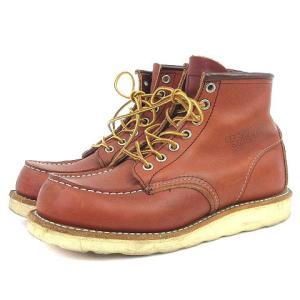 レッドウィング REDWING 8875 E アイリッシュセッター ブーツ ショート モックトゥ 現行タグ レザー ブラウン 茶色 37 シューズ 靴 メンズ レディース【中古】|vectorpremium