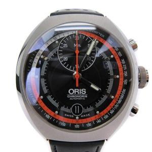 【中古】オリス ORIS クロノリス CHRONORIS 672 7564 4154 腕時計 アナロ...