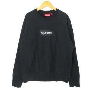 シュプリーム SUPREME 18AW Box Logo Crewneck Sweatshirt Black S スウェット トレーナー ボックスロゴ 黒 ブラック メンズ 【中古】【ベクトル 古着】 vectorpremium