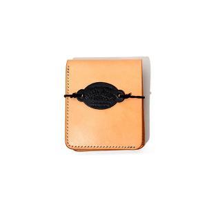 【中古】受注生産モデル nanala design ナナラデザイン basic short wallet ベーシック ショートウォレット 二つ折り財布 natural/● メンズ 【ベクトル 古着】