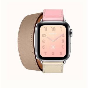【中古】未使用品 Apple Watch Hermes Series 4 (GPS + Cellular) DOUBLE TOUR 40mm エルメス アップルウォッチ シリーズ4/●☆ レディース 【ベクトル 古着】