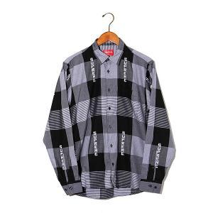 【中古】未使用品 2020SS SUPREME シュプリーム Logo Plaid Shirt ロゴ...