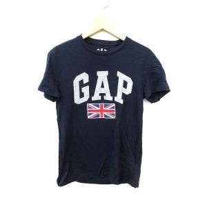 ギャップ GAP Tシャツ 半袖 ロゴ XS ネイビー 0531 レディース【中古】【ベクトル 古着】|vectorpremium