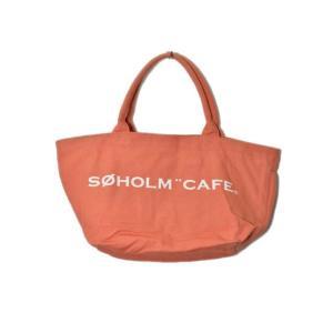 ルートート rootote soholm cafe スーホルムカフェ バッグ ポーチ トート キャンバス オレンジ 180226T レディース【中古】【ベクトル 古着】