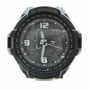 【中古】カシオジーショック CASIO G-SHOCK GW-4000A-1AJF 腕時計 スカイコックピット アナログ タフソーラー 防水 黒 メンズ 【ベクトル 古着】|vectorpremium