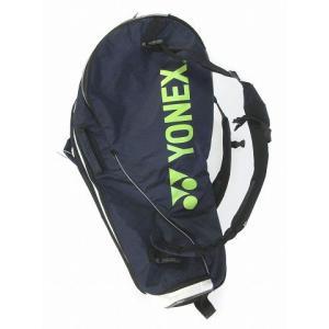 【中古】ヨネックス YONEX  スポーツバック ラケットバッグ ラケットケース ネイビー メンズ ...