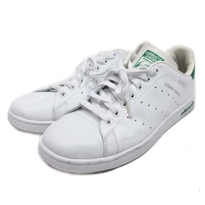【中古】アディダス adidas STAN SMITH スニーカー シューズ スタンスミス 670461 28.0 ホワイト 白 緑/☆I33 メンズ 【ベクトル 古着】|vectorpremium