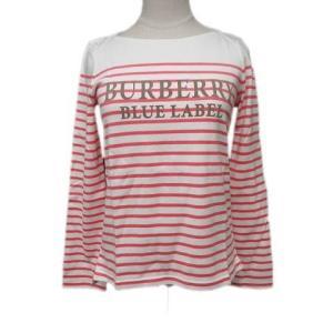 【中古】バーバリーブルーレーベル BURBERRY BLUE LABEL Tシャツ カットソー ボー...