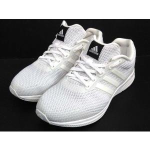 アディダス adidas マナバウンスニット MANA BOUNCE KNIT ランニングシューズ B54182 白 ホワイト 25cm 新品同様 メンズ レディース【中古】【ベクトル 古着】|vectorpremium