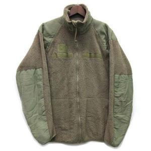 【中古】GEN3 ECWCS US ARMY ポーラテック POLARTEC ワッフル フリース ジャケット フォリッジグリーン 緑 USA製 メンズ 【ベクトル 古着】|vectorpremium