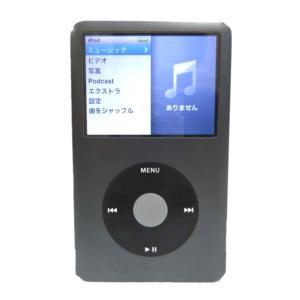 apple ipod classic 160GB アップル アイポッド クラシック ポータブルプレーヤー A1238 MC297J/A ブラック メンズ レディース【中古】【ベクトル 古着】
