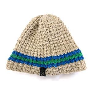 グレイスノーボード gray snowboards ニット キャップ 帽子 ベージュ 青 緑 ※TS 170112 メンズ レディース【中古】【ベクトル 古着】