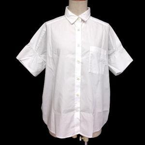 無印良品 良品計画 シャツ 五分袖 無地 白 XS-S ※HM 180816 レディース【中古】【ベ...