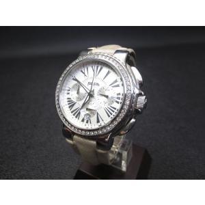 フォリフォリ Folli Follie WF6A003SE 革ベルト デイト 腕時計 電池交換済 男女兼用 メンズ レディース【中古】【ベクトル 古着】|vectorpremium