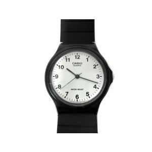 カシオ CASIO チープカシオ ラバーベルト 腕時計 MQ-24 メンズ【中古】【ベクトル 古着】...