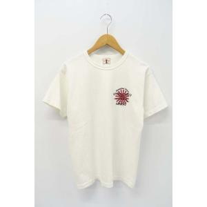 【中古】サムライジーンズ SAMURAI JEANS バックプリント 半袖 Tシャツ カットソー M  【ベクトル 古着】