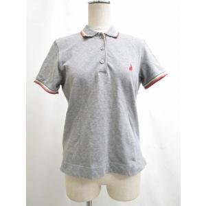 ポールスミス ピンク paul smith PINK ポロシャツ 半袖 ロゴ 刺繍 ウサギ ライン グレー M トップス|vectorpremium