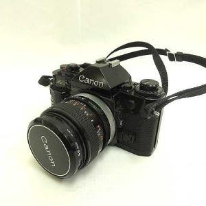 キャノン Canon A-1 フィルムカメラ レンズ SL-39 75-300mm付 ジャンク ■R...
