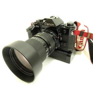 キヤノン Canon A-1 一眼レフ フィルムカメラ 35-105mm レンズ モータードライブ ...