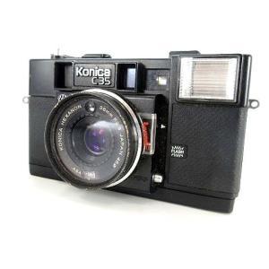 【中古】コニカ konica C35 フィルムカメラ ジャンク レトロ 当時物 ■ その他 【ベクト...