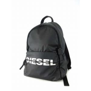 【中古】ディーゼル DIESEL X06285-P1705 リュックサック バックパック マットブラ...