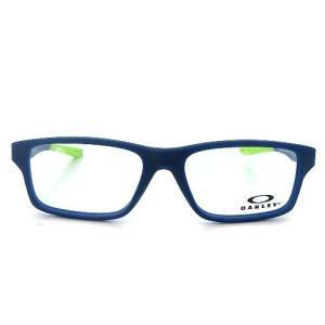 【中古】未使用品 オークリー OAKLEY OY8002-0449 CROSSLINK XS クロスリンク XS メガネ フレーム めがね 眼鏡 スクエア マットネイビー ブルー 青 49□14 122|vectorpremium