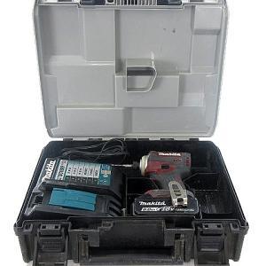 【中古】マキタ makita 充電式 インパクト ドライバ 18V TD171DGX レッド系 赤系 動作確認済 電動工具 ■  【ベクトル 古着】|vectorpremium