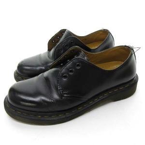 ドクターマーチン DR.MARTENS 3EYE 3ホール レザー シューズ 革靴 黒 ブラック UK5 24cm位 0609 IBS22 レディース 【中古】【ベクトル 古着】|vectorpremium