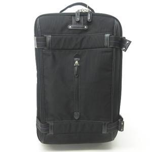 【中古】ポールスミス PAUL SMITH キャリーケース スーツケース ビジネス ACE製 ナイロンキャンバス ブラック 黒 1211 メンズ 【ベクトル 古着】|vectorpremium