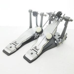 【中古】未使用品 PEARL パール P-1032 Eliminator SOLO BLACK Double Pedal ドラムペダル シルバー 銀色 同梱不可 0326 その他 【ベクトル 古着】|vectorpremium