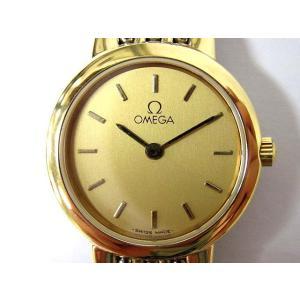 オメガ OMEGA deville デビル レディース クォーツ 腕時計 ゴールド シルバー SS ジャンク品 171202YK01B レディース【中古】【ベクトル 古着】|vectorpremium