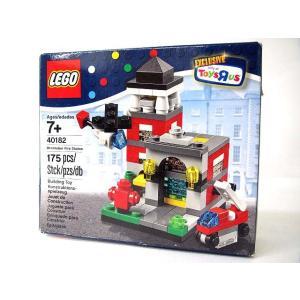レゴ LEGO 40182 ミニファイヤーステーション トイ...