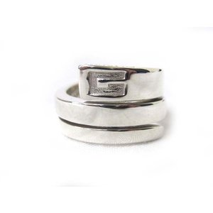 グッチ GUCCI スネーク スパイラル リング 指輪 SV925 シルバー 7号 180211NM-8899s レディース【中古】【ベクトル 古着】