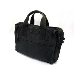 トゥミ TUMI 2601D3 ビジネスバッグ ハンドバッグ キャンバス ブラック 黒 バック 鞄 ...