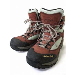 【中古】モンベル Montbell GORE-TEX ツオロミーブーツ トレッキングシューズ 登山靴 ブラウン系 赤茶 24.5 シューズ 靴 ●K 190804OK10B レディース|vectorpremium
