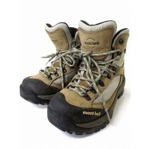 【中古】モンベル Montbell ツオロミーブーツ トレッキングシューズ 登山靴 ベージュ 24.0 シューズ 靴 ●K 190804OK09B レディース 【ベクトル 古着】|vectorpremium