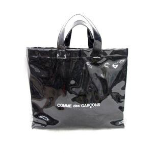 コムデギャルソン ブラックマーケット COMME des GARCONS black market PVC ロゴ トート ハンド バッグ TOTE BAG 黒メンズ レディース【中古】【ベクトル 古着】|vectorpremium