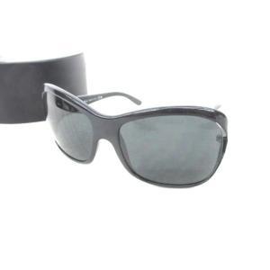 プラダ PRADA サングラス ロゴ SPR05L 黒 ブラ...