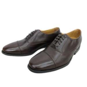 未使用品 コールハーン COLE HAAN ADAMS CAP.OX.II ビジネス ドレス シューズ 靴 レザー ストレートチップ 内羽根 茶 6W メンズ 【中古】【ベクトル 古着】|vectorpremium