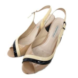 【中古】ストロベリーフィールズ STRAWBERRY-FIELDS サンダル ヒール シューズ 靴 ...