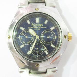 セイコー SEIKO 腕時計 V14J-0B00 ALBA アルバ ROOX ルークス ソーラー クロノグラフ 青 ブルー系 銀色 シルバー系 レディース【中古】【ベクトル 古着】 vectorpremium