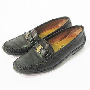 サルヴァトーレフェラガモ パンプス 靴 シューズ レザー 本...