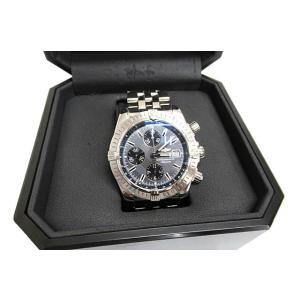 ブライトリング BREITLING クロノマット エボリューション グレー文字盤 オートマチック 腕時計 A13356 ブランド古着ベクトル 中古180702 1300【中古】|vectorpremium