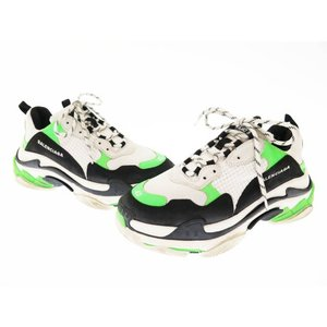 【中古】バレンシアガ BALENCIAGA Triple S Sneaker 536737 トリプル...