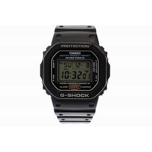 【中古】ジーショック G-SHOCK DW-5600E スクエア デジタル 腕時計 黒ブラック ブラ...